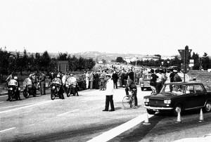 Faenza, Inaugurazione Circonvallazione, 1969