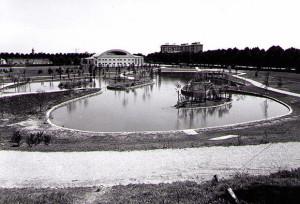 Parco di Piazza d'Armi, Faenza, 1970.