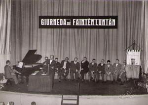 Giornata del Faentino Lontano, Teatro Masini, Faenza, 1963.