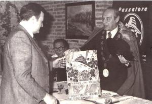 Assegnazione del premio alle opere del teatro dialettale, Ravenna, 1979.