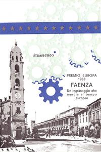 Cartolina per annullo postale, Faenza, 1968.