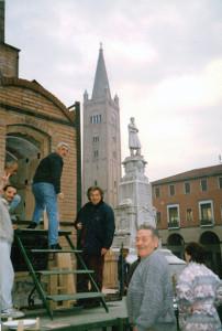 Grande Forno a Legna, Piazza Saffi, Forlì, 1997.