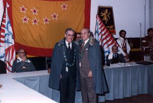 La bandiera tribunizia della Romagna, Faenza, 1985.
