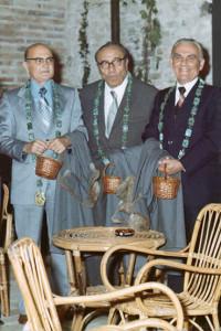Libero Ercolani, Bruto Carioli, Guido Bianchi, Ca' de Vèn, Ravenna, 1975.