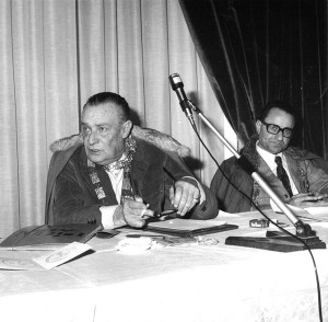 Max David e Alteo Dolcini, Faenza, 1975.