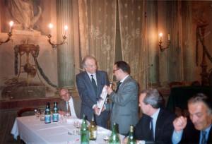 Premio Riunione Cittadina a Alberto Pasolini Zanelli, Faenza, 1989.
