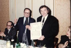 Premio Riunione Cittadina a Goffredo Gaeta, Faenza, 1990.
