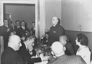 Premio Riunione Cittadina a Piero Zama, Faenza, 1957.
