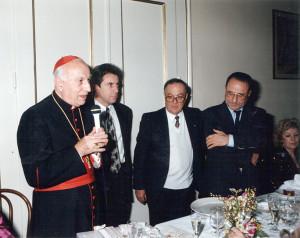 Premio Riunione Cittadina al Cardinale Pio Laghi, Faenza, 1991.