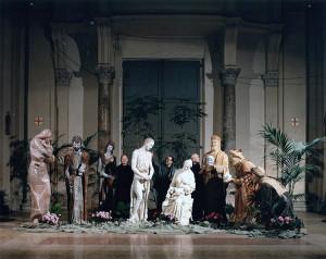 Presepio Grande, donato alla Villa Pontificia di Castel Gandolfo, Faenza, 1989.