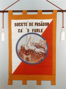 Stendardo della Ca' 'd Furlé, 1972.