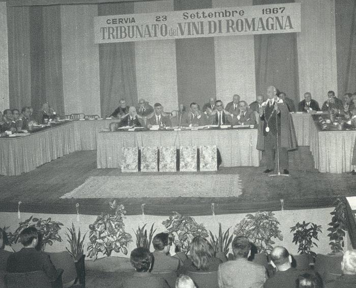 Tribunato a Cervia 1967