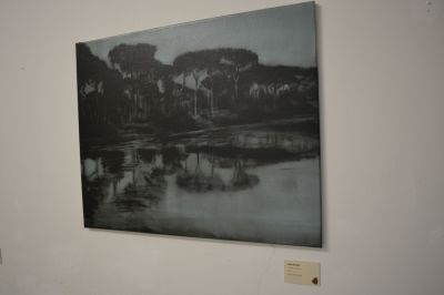 Lucia Baldini, olio su tela