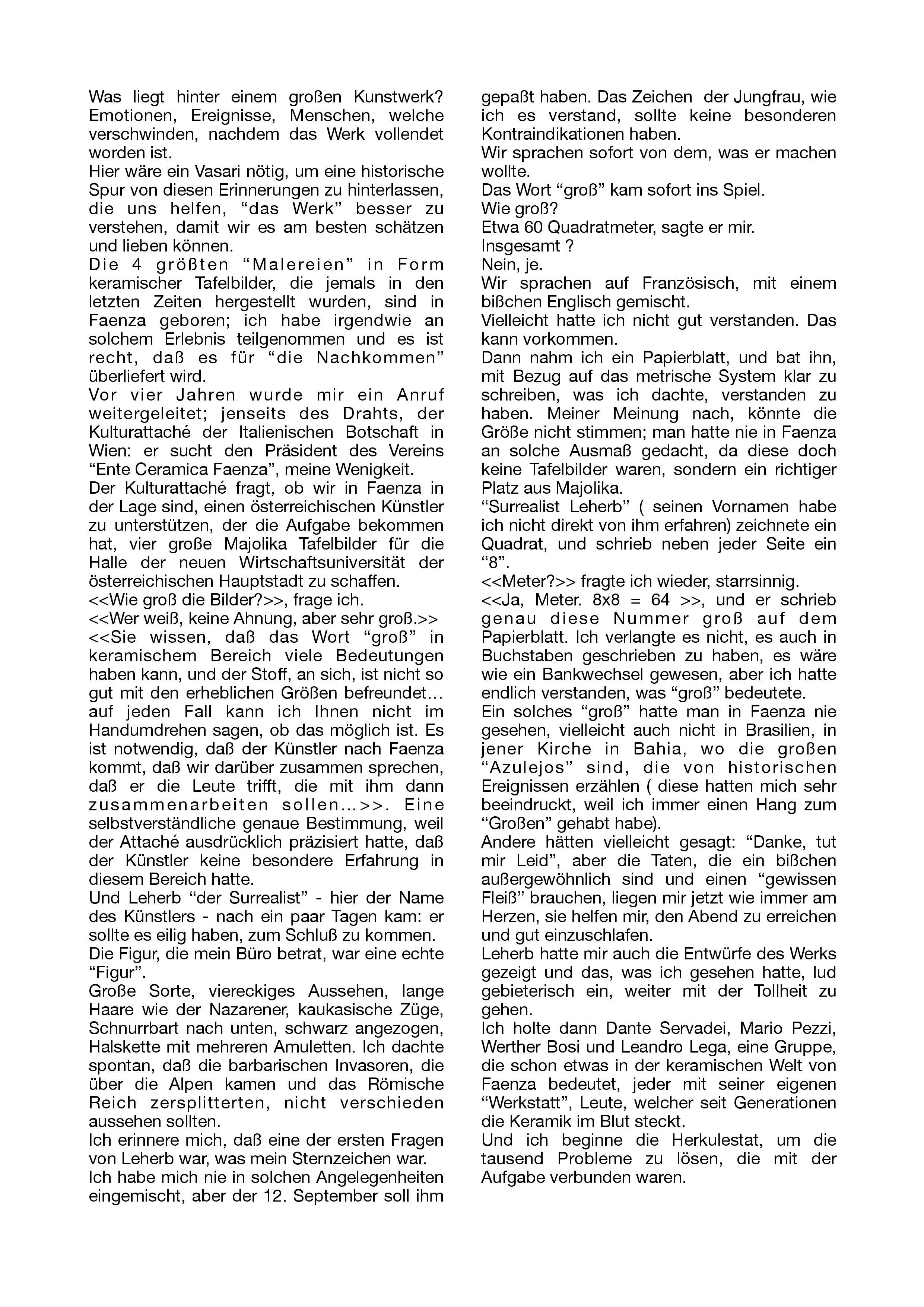 Articolo Alteo Dolcini 1984 traduzione in tedesco