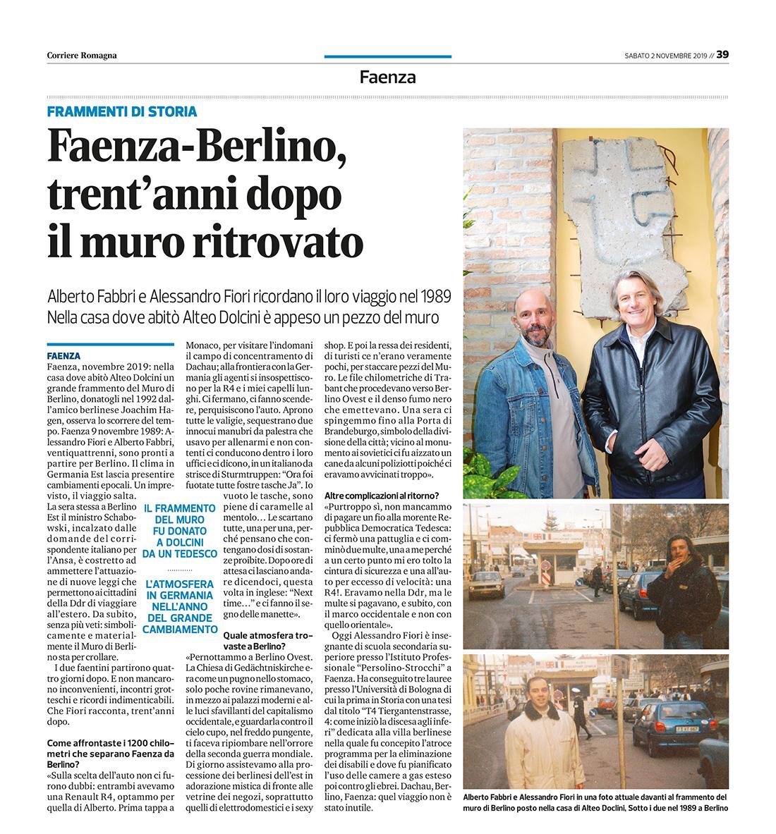 001_02_11_2019 Quotidiano NG 0211 cronaca 39 Faenza Ravenna-Imola